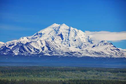 Wrangell St Elias Nationalpark In Alaska Usa