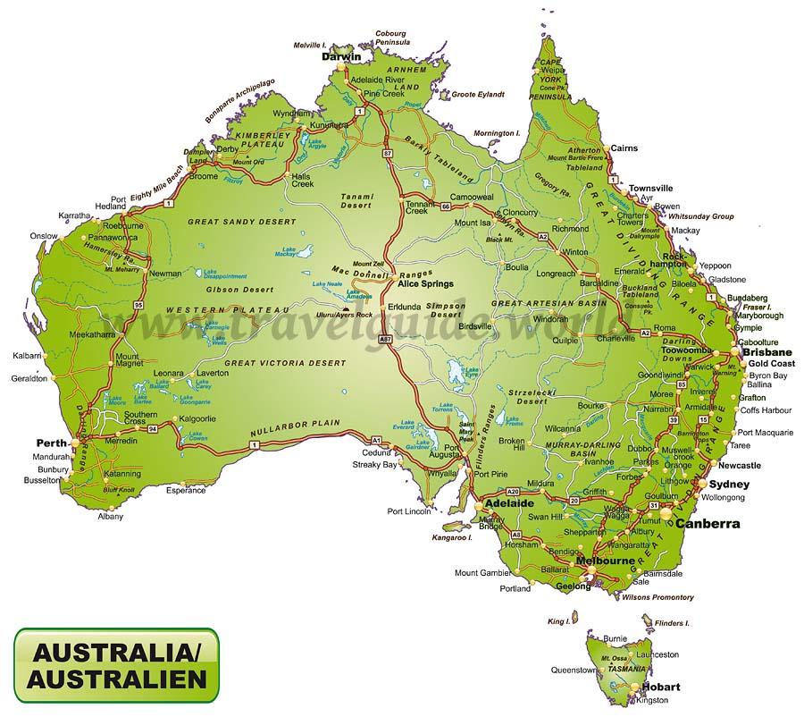 Australien Kontinent