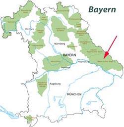 Bayerischer Wald Berge Und Walder In Niederbayern
