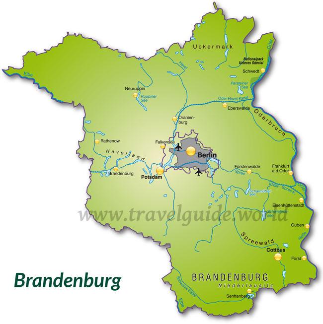 Brandenburg Seenlandschaften Und Walder