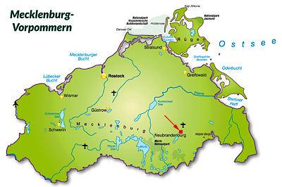 neubrandenburg vier tore stadt mecklenburg vorpommern. Black Bedroom Furniture Sets. Home Design Ideas