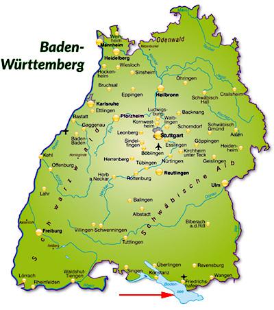 Bodensee Am Schwabischen Meer