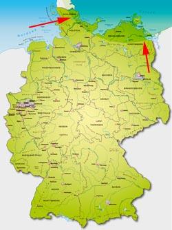 Ostsee Deutschland Karte.Deutschlandkarte Ostsee My Blog