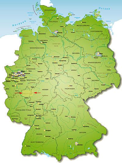 Westerwald Karte.Westerwald Im Drei Bundeslander Eck