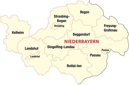 Niederbayern An Donau Und Inn