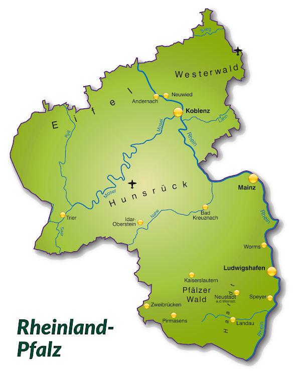 Rheinland Pfalz In Deutschland