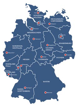 buchenwälder in deutschland karte Buchenwälder in Deutschland   Weltnaturerbe der UNESCO