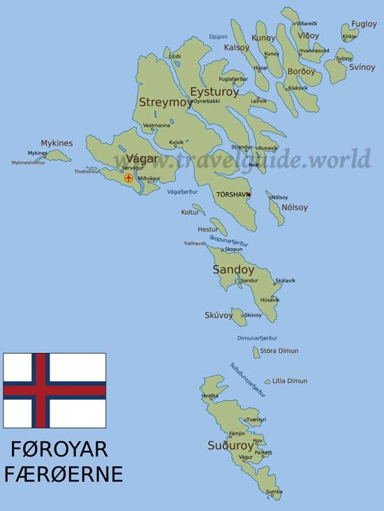 Faroer Inseln Danische Enklave Im Atlantik