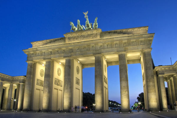 Brandenburger Tor in Berlin-Mitte