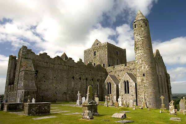 Rock of Cashel - Klosterruine